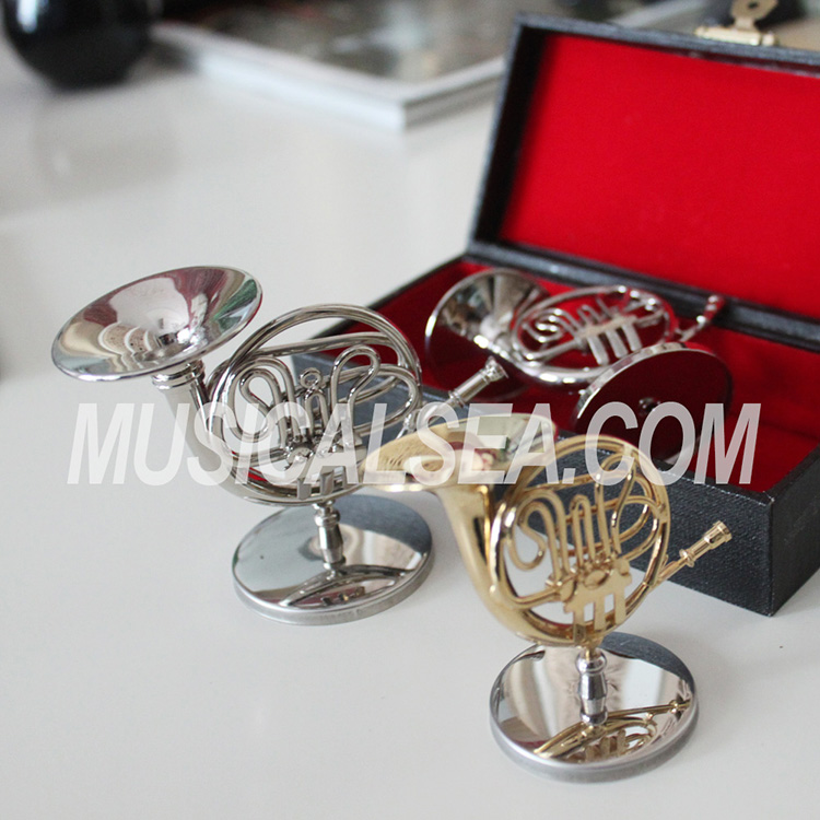 french horn metal crafts