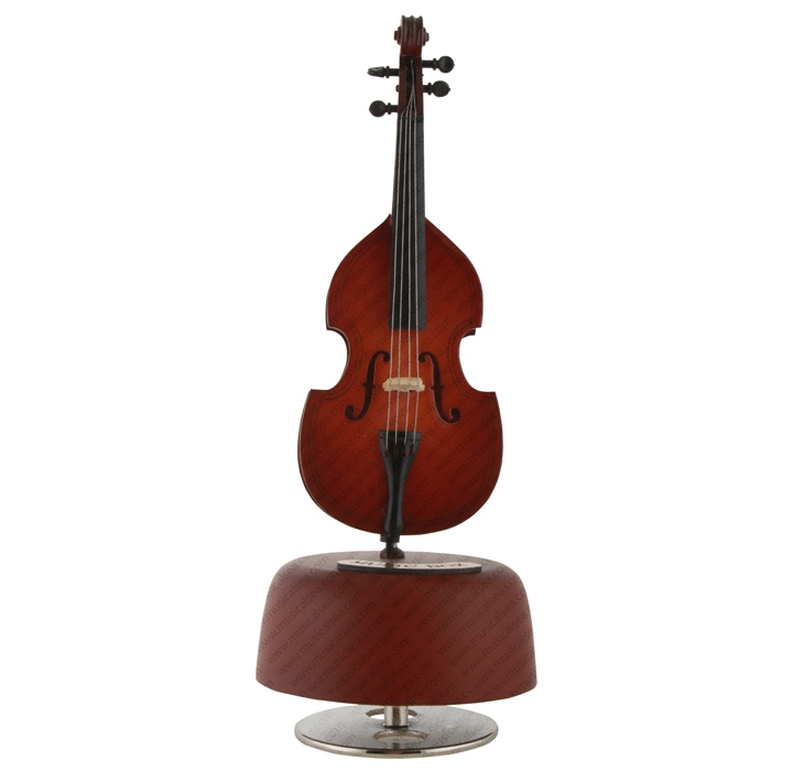 mini violin music box