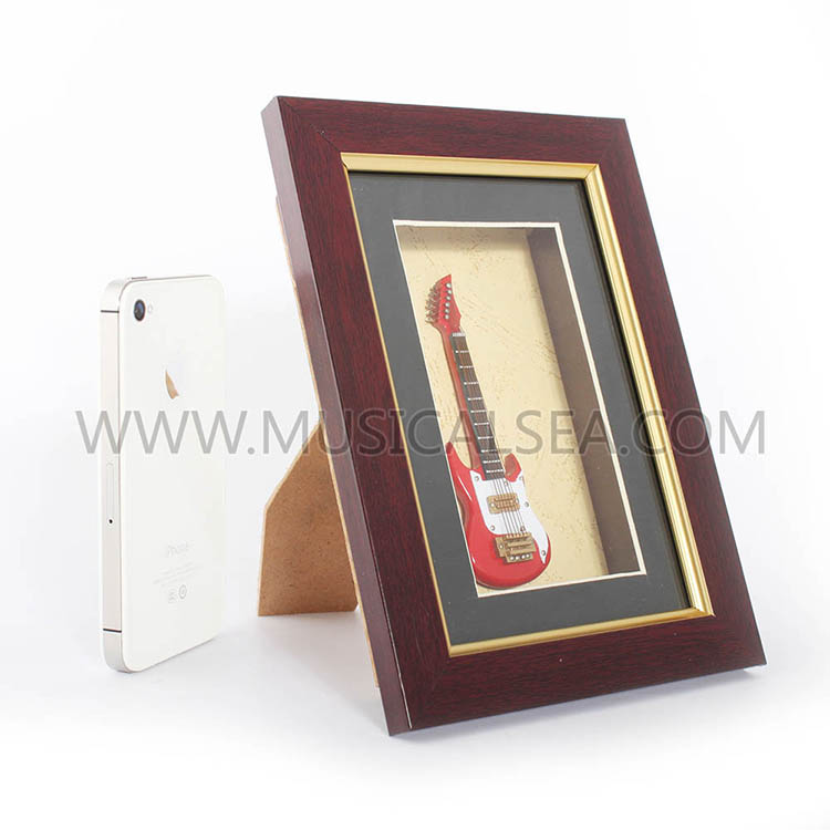 Wholesale photo frame with mini electric guit