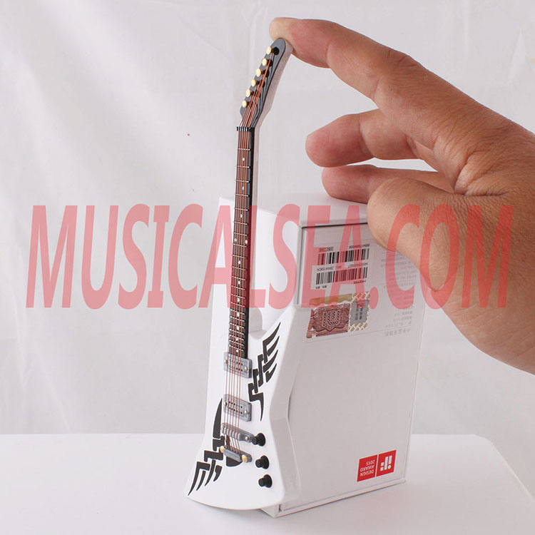 New product miniature guitar wooden crafts fo