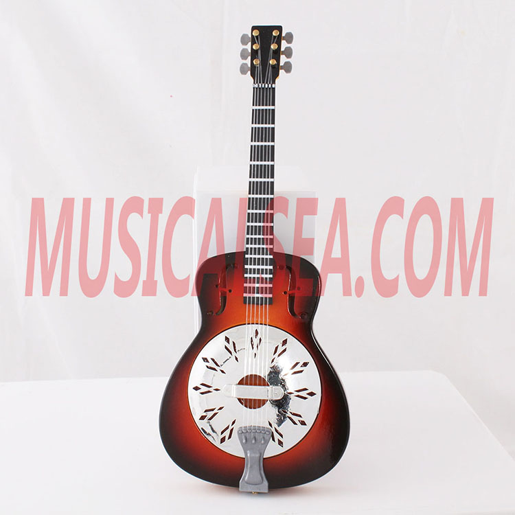 Miniature guitar toy miniature musical instru