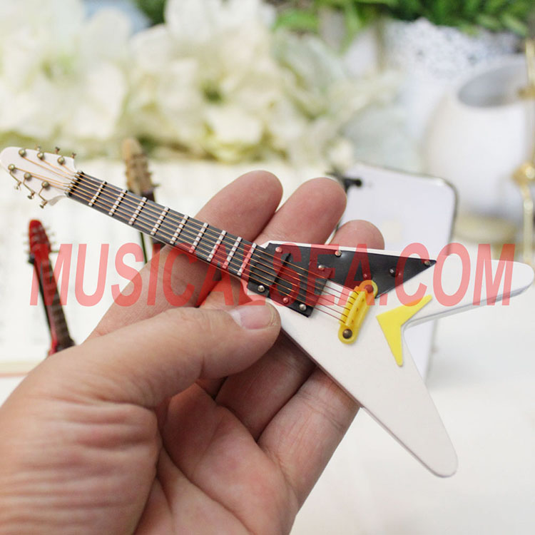 Miniature guitar replica toy for christmas or