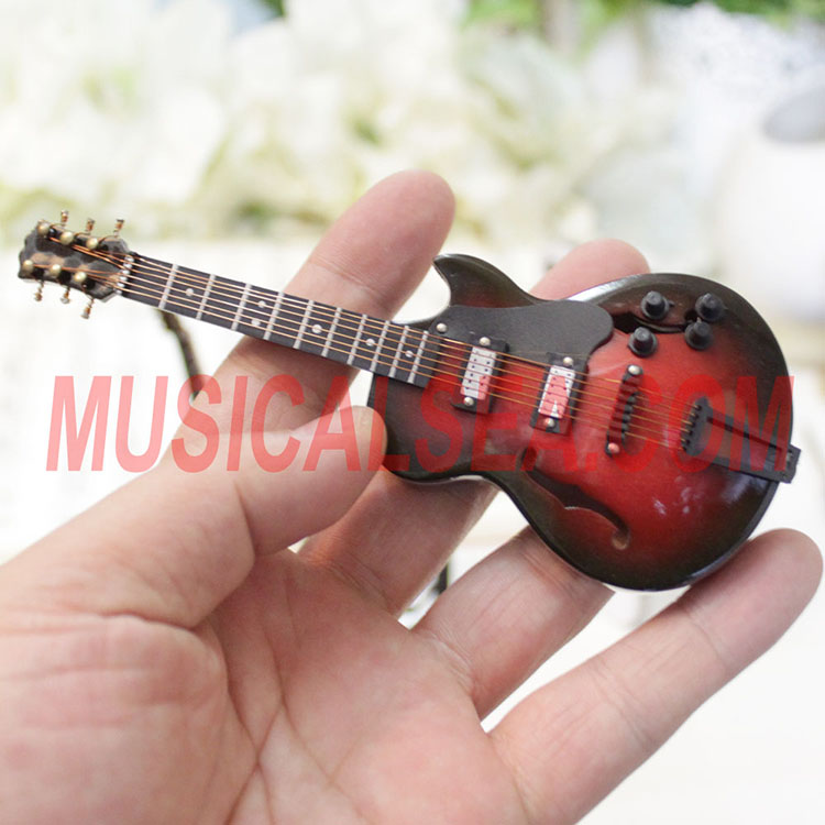 Miniature High quality handmade guitar model