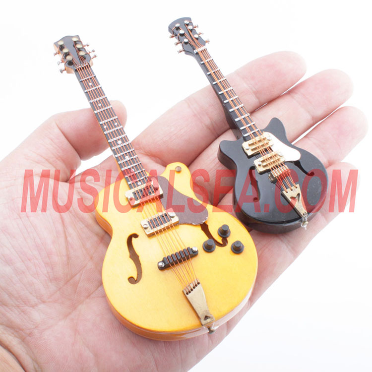 Best selling mini guitar woooden crafts