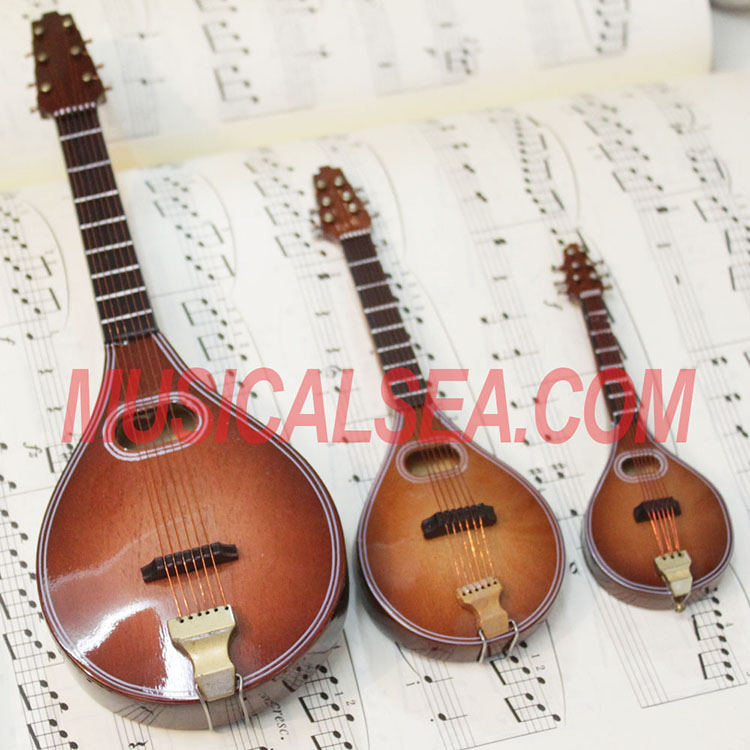 Miniature mandolin Handicrafts