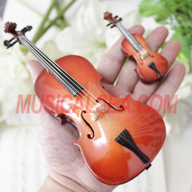 High Quality Miniature handmade violin craft