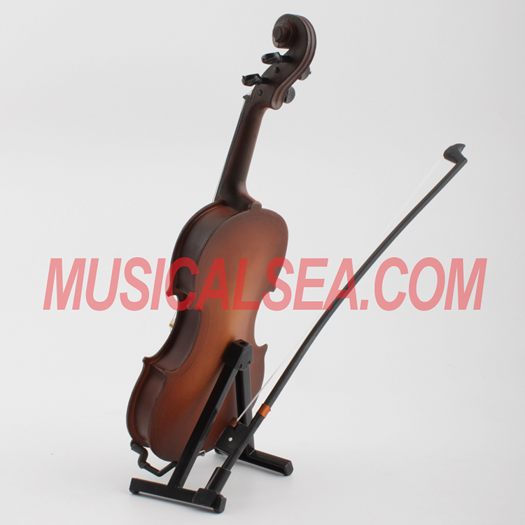Toy Violins For 3 And Up : Miniature violin mini cello toy christmas ornament craft