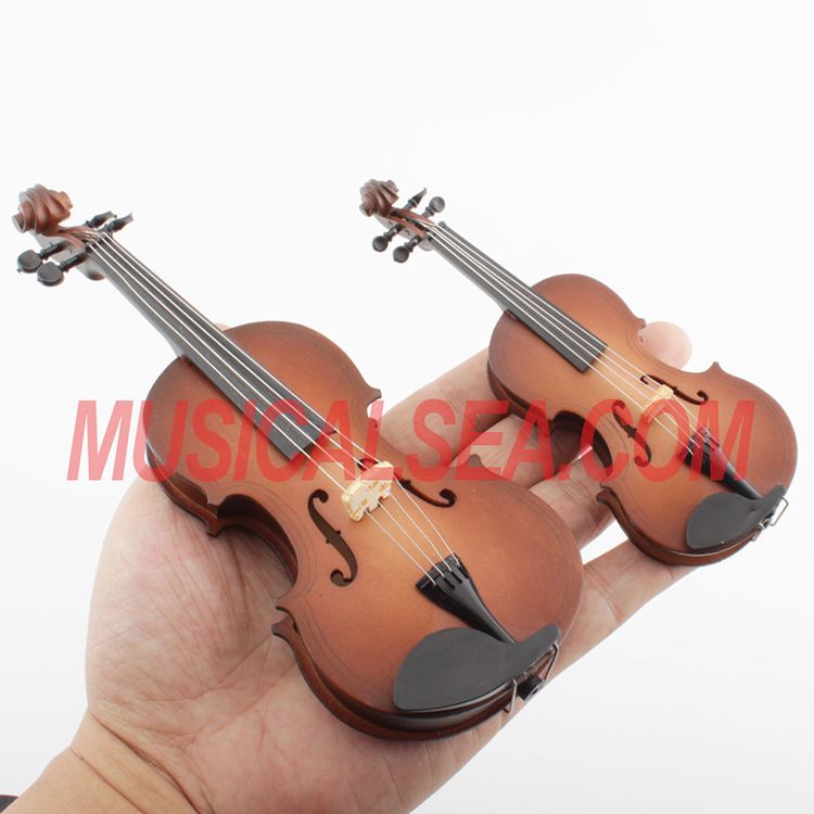Miniature violin mini cello toy christmas orn