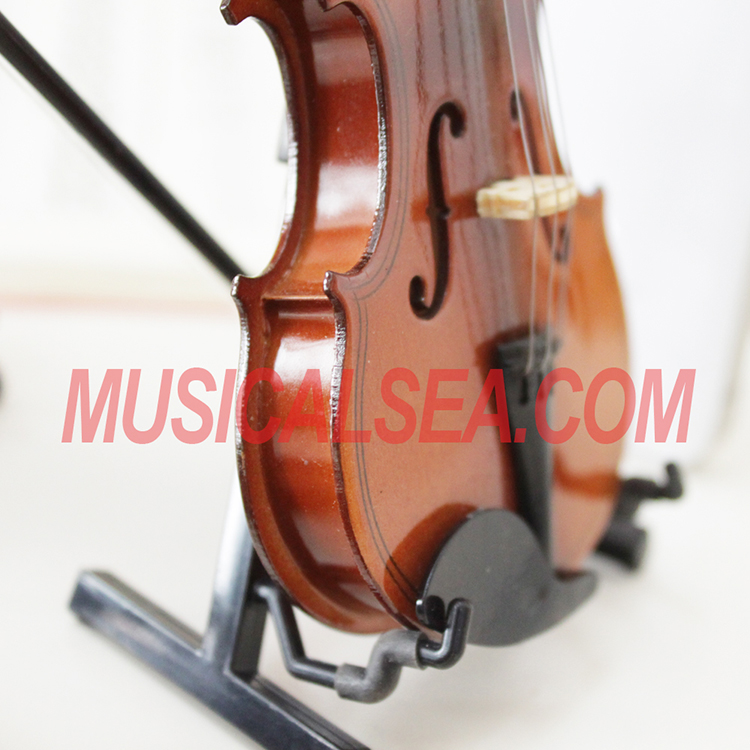 Toy Violins For 3 And Up : Miniature violin cello toy for christmas ornament craft