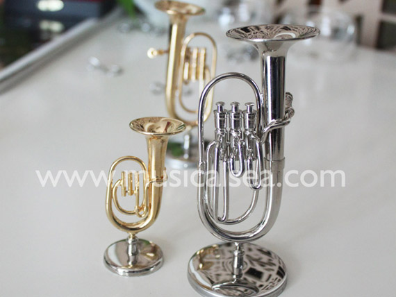Musical Instrument Christmas Ornaments